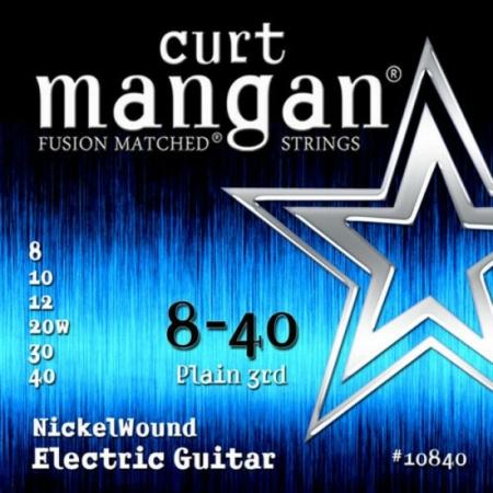 Curt Mangan - Nickel Wound 8-40 Elektromos Gitárhúr készlet