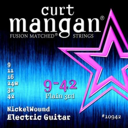 Curt Mangan - Nickel Wound 9-42 Elektromos Gitárhúr készlet