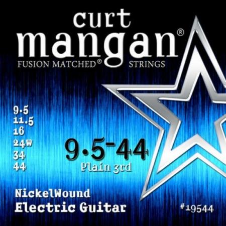 Curt Mangan - Nickel Wound 9.5-44 Elektromos Gitárhúr készlet