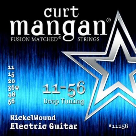 Curt Mangan - Nickel Wound Drop Tuning 11-56 Elektromos Gitárhúr készlet
