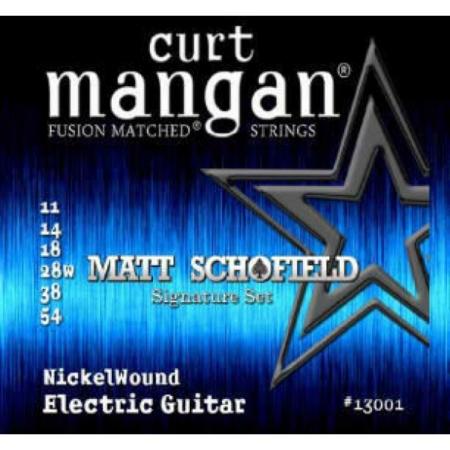 Curt Mangan - Nickel Wound Matt Schofield 11-54 Elektromos Gitárhúr készlet