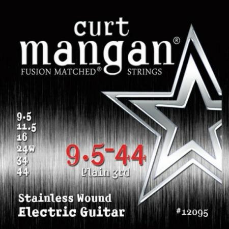Curt Mangan - Stainless Steel 9.5-44 Elektromos Gitárhúr készlet