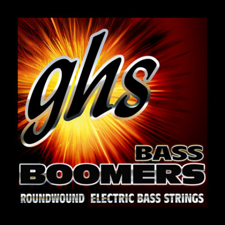 GHS - BOOMERS Extra Long Scale Boomers MEDIUM LIGHT 45-100 Basszushúr Készlet