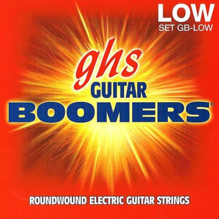 GHS - BOOMERS LOW TUNED 11-53 Elektromos Gitárhúr Készlet