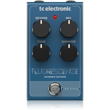 TC Electronic - Fluorescence Shimmer Reverb effektpedál, szemből