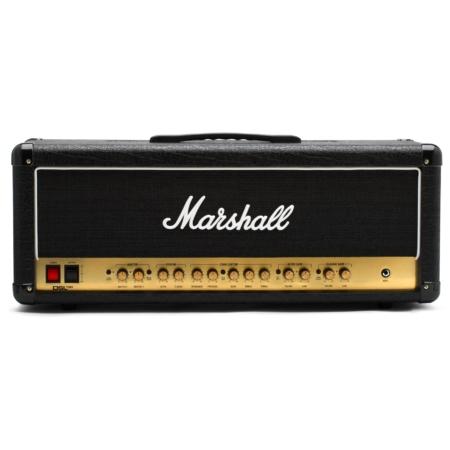 Marshall - DSL100HR csöves gitárerősítő fej 100 Watt, szemből