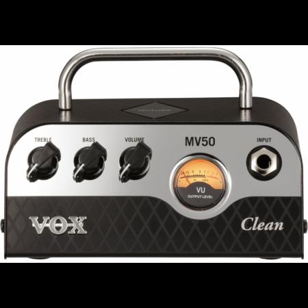 Vox - MV50 Clean gitárerősítő fej 50 Watt, szemből