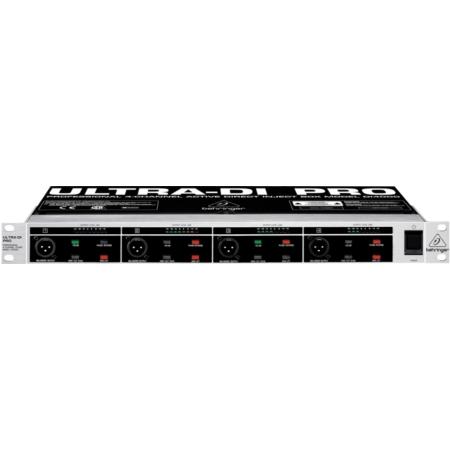 Behringer - DI4000 Ultra-DI Pro 4 csatornás DI-Box