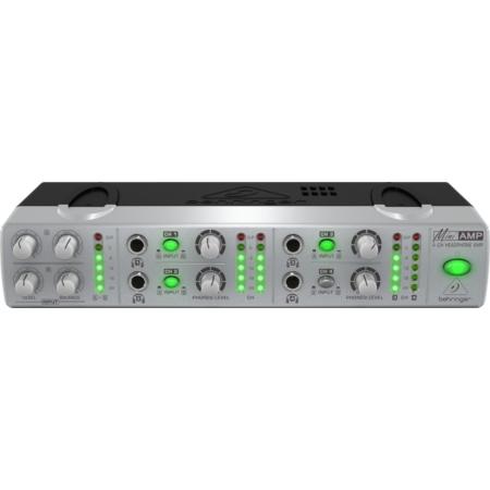 Behringer - Miniamp AMP800 4 csatornás sztereo fejhallgató erősítő