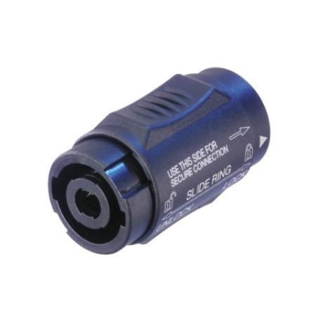 Neutrik - NL4MMX Rögzíthető 4 pólusú speakON adapter