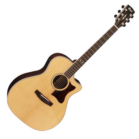 Cort akusztikus gitár Fishman EQ, natúr