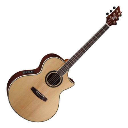 Cort akusztikus bariton gitár, matt natúr