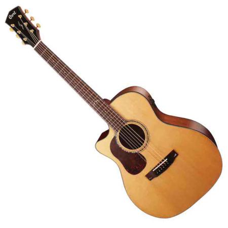 Cort akusztikus gitár, All solid, balkezes