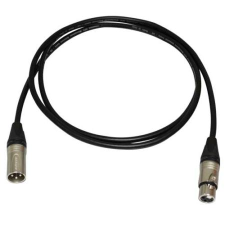 Bespeco Neutrik XLR-XLR, 6m-es mikrofonkábel
