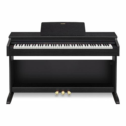 Casio - AP-270 BK digitális zongora fekete,szemből