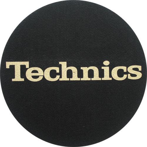 Technics - Slipmats Technics Logo gold