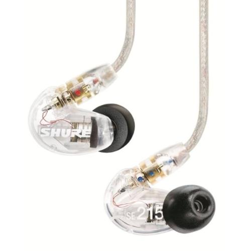 Shure - SE-215-CL-EFS hangszigetelt vezetékes fülhallgató
