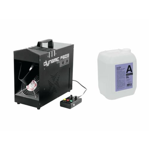 EUROLITE - Set Dynamic Faze 700 + Smoke fluid -A2D- 5l