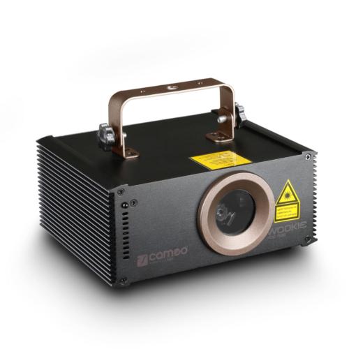 Cameo - WOOKIE 400 RGB - Animációs Lézer 400mW RGB Készletakció