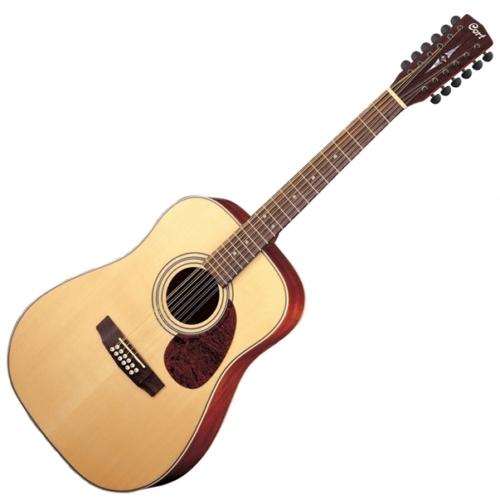 Cort - Earth70-12-OP 12 húros akusztikus gitár, szemből
