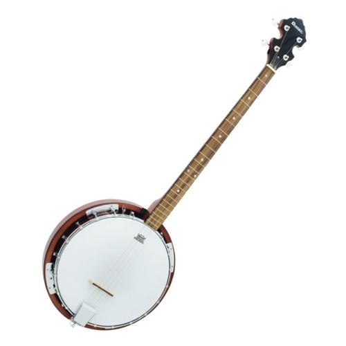 DIMAVERY - BJ-04 Banjo, 4-string