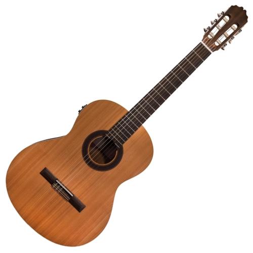 JM Forest - Student EQ elektroklasszikus gitár, szemből
