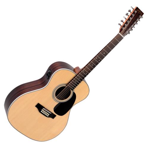 Sigma - JR12-1STE 12 húros akusztikus gitár elektronikával, szemből
