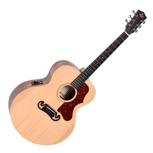 Sigma - SI-GJME akusztikus gitár elektornikával Grand Jumbo