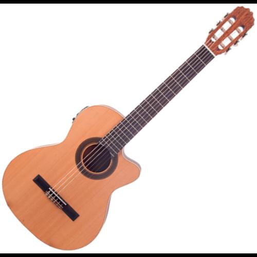 JM Forest - Student CT EQ elektroklasszikus gitár, szemből