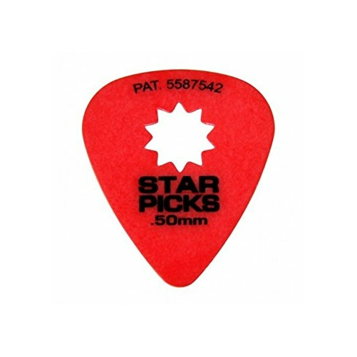 Everly - Star picks pengető 0.50 mm piros