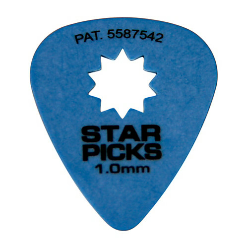 Everly - Star picks pengető 1.00 mm kék