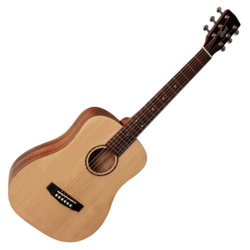 Cort - ADMini - 3/4-es akusztikus gitár puha tokkal matt natúr