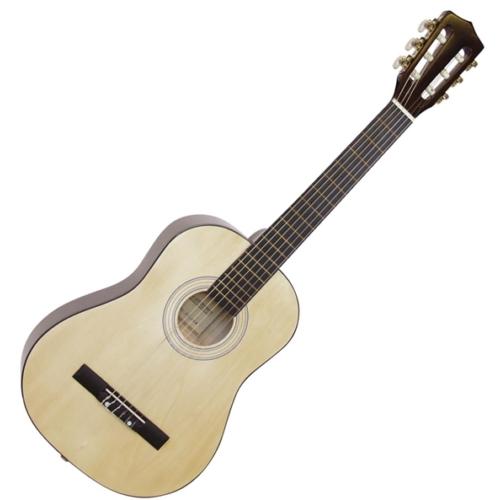 Dimavery - AC-303 1/2-es klasszikus gitár natúr színben