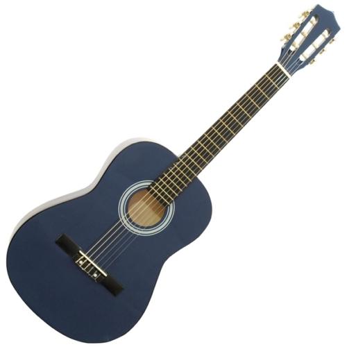 Dimavery - AC-303 3/4-es klasszikus gitár kék színben