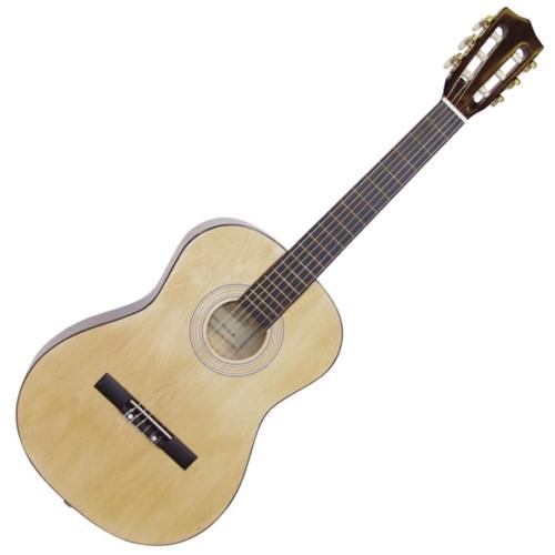 Dimavery - AC-303 3/4-es klasszikus gitár natúr színben