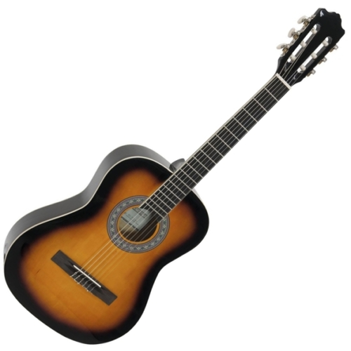 Dimavery - AC-303 3/4-es klasszikus gitár sunburst színben