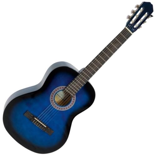 Dimavery - AC-303 Klasszikus gitár kék színben