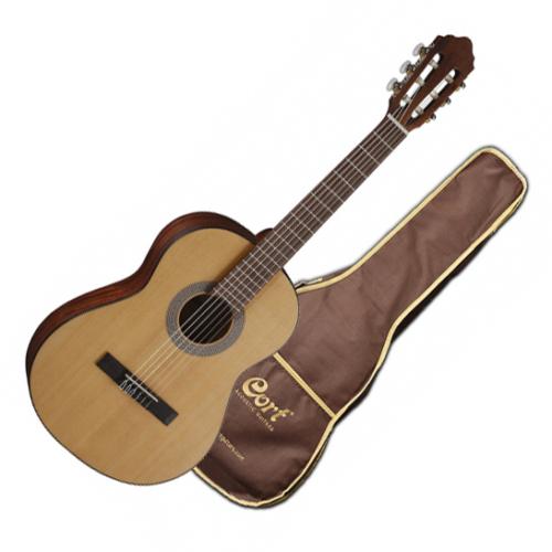 Cort - AC50 OP 1/2-es klasszikus gitár matt natúr tokkal
