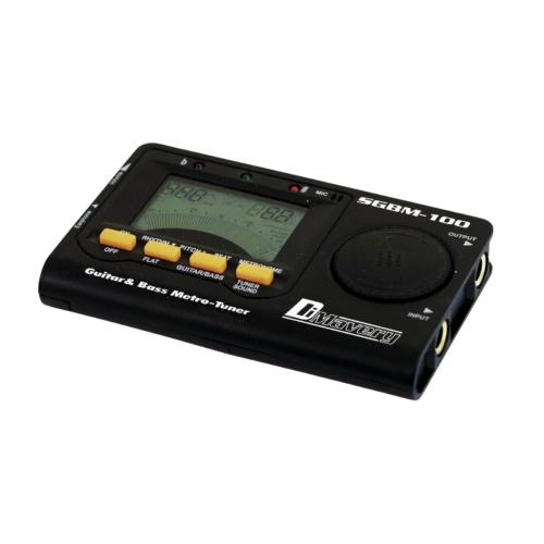 DIMAVERY SGBM-100 Hangoló és metronóm szemből