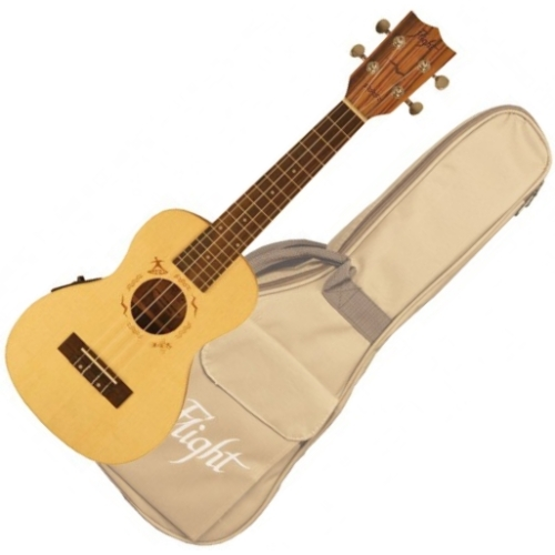 Flight - DUC-525 CEQ SP/ZEB Ukulele Concert