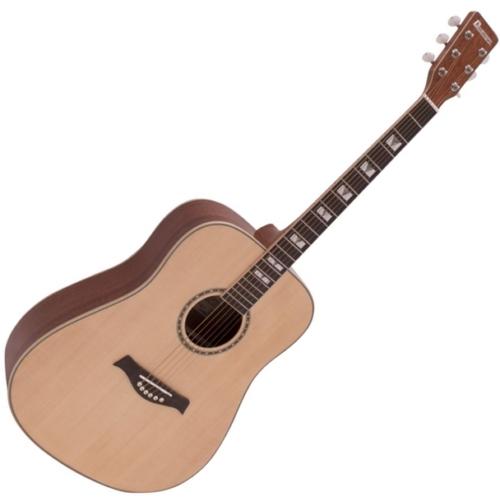 Dimavery - STW-40 Western gitár, natúr színben