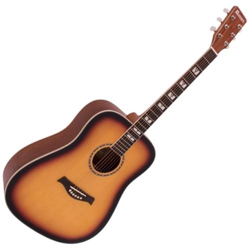 Dimavery - STW-40 Western gitár, sunburst színben