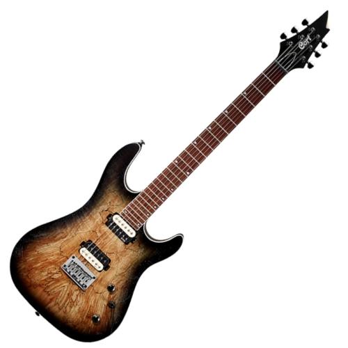 Cort - KX300-OPRB elektromos gitár nyers burst