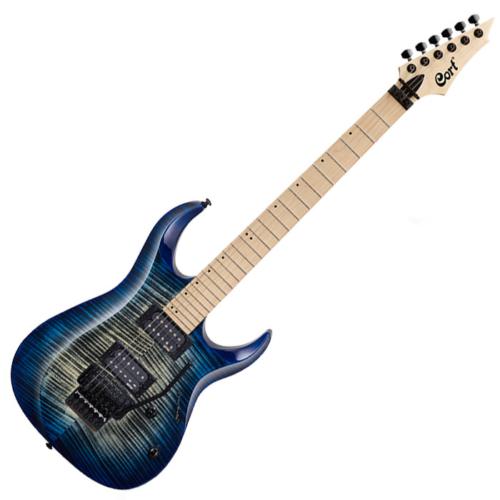 Cort - X300-BLB elektromos gitár kék burst