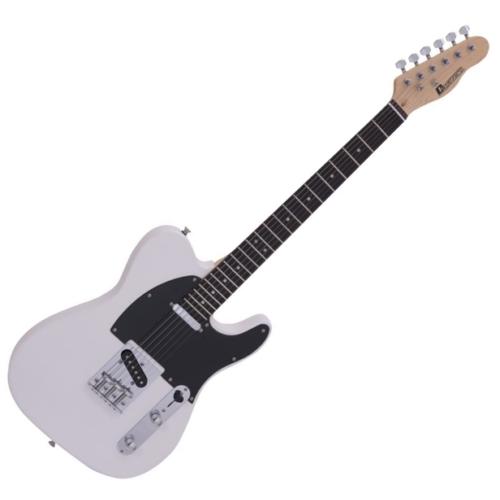 Dimavery - TL-401 elektromos gitár fehér színben