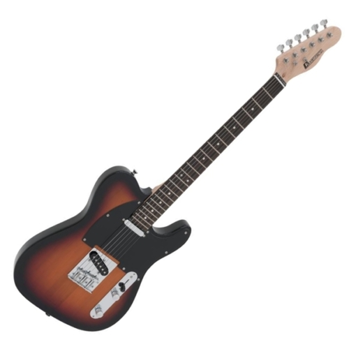 Dimavery - TL-401 elektromos gitár sunburst színben