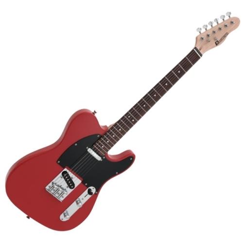 Dimavery - TL-401 elektromos gitár vörös színben