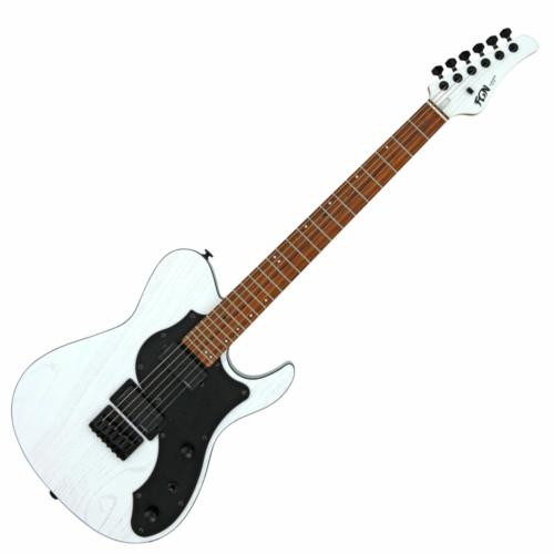 FGN - J-Standard Iliad Dark Evolution 664 elektromos gitár matt fehér ajándék puhatok