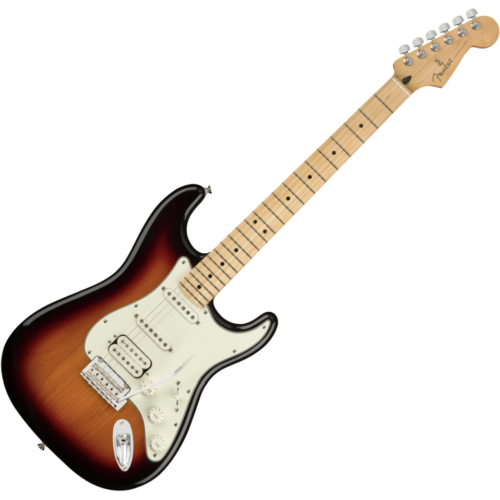 Fender - PLAYER STRATOCASTER HSS MN 3-Color Sunburst