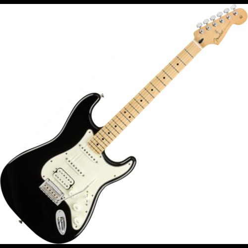 Fender - PLAYER STRATOCASTER HSS MN Black